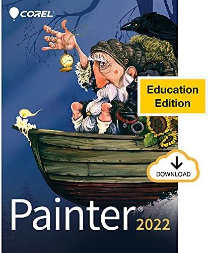 Corel Painter 2022 Education   Professional Digital Painting Software   Illustration, Concept, Photo & Fine Art [PC Download]