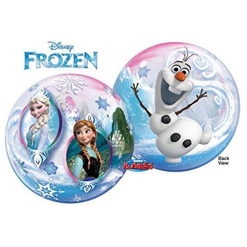 Qualatex Luftballon mit Disney Frozen Design, rund, 56 cm (Einheitsgröße) (Bunt)