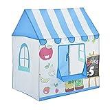 [casa.pro] Carpa para niños para jugar 110 x 100 x 70 cm Tienda de campaña para niños Stand para venta
