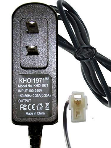 KHOI1971 Wall Charger AC Adapter Compatible with W348AC ROLLPLAY BMW Motorcycle Ride on 6V-Volt Battery Charger AC Adapter NOT Created or Sold by ROLLPLAY