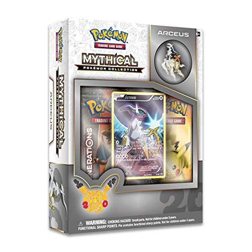 Pokemon TCG: Mythical Arceus Pin Collection