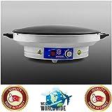 Electric Professional 20 inch Large Model Tawa Arabic Saj Bread Roti Pan Chapati Flat Bread Tortilla Pita Papad Maker Warmer Machine 220V