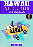 Hawaii Word Search: Aloha | Hawaiian Word Search | Challenging Puzzle book For Adults & Kids | 40 puzzles with word searches and scrambles | Find more ... | Large Print, Gift for Hawaiian lover.