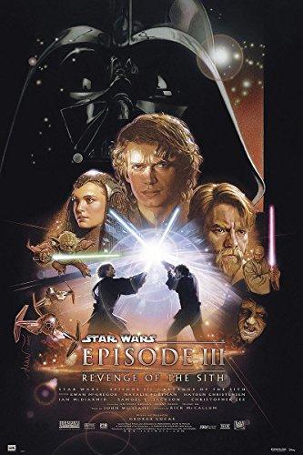 Star Wars Poster Episode 3 Revenge of the Sith (61cm x 91,5cm) + Ü-Poster