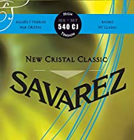 SAVAREZ 540CJ BLUE クラシックギター弦 NEW CRISTAL CLASSIC TENSION FORTE サバレス
