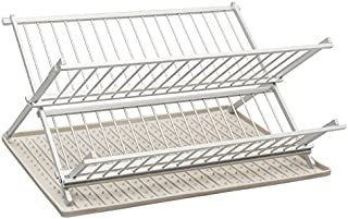 ta da TDFDRLG Dish Rack, One Size, Light Grey