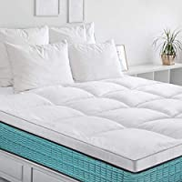 BedStory Surmatelas 160x200 x6cm, Couvre de Matelas en Microfibre 7D Hypoallergénique, Protège Matelas...