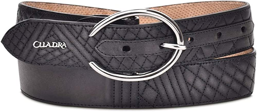 CUADRA Women's Casual Belt Detroit Mall Leather in Genuine Limited time trial price