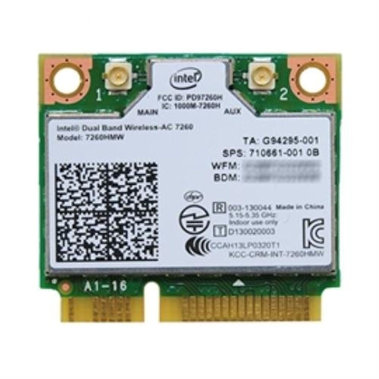 ブレンド超えてグラスインテル Intel Dual Band Wireless-AC 7260 + Bluetooth 7260HMW 2x2 対応 Wi-Fi + Bluetooth 4.0 アダプター
