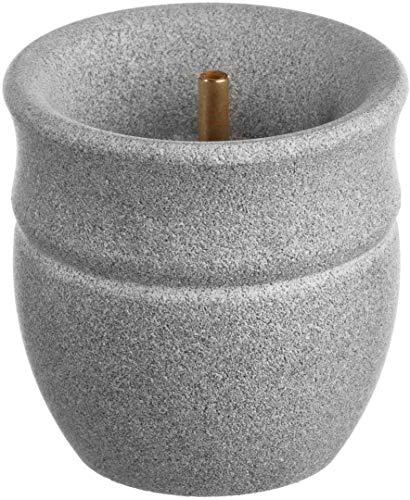 Saunabrunnen aus Speckstein für den Saunaofen -Solina- 60 ml (Hukka Design)