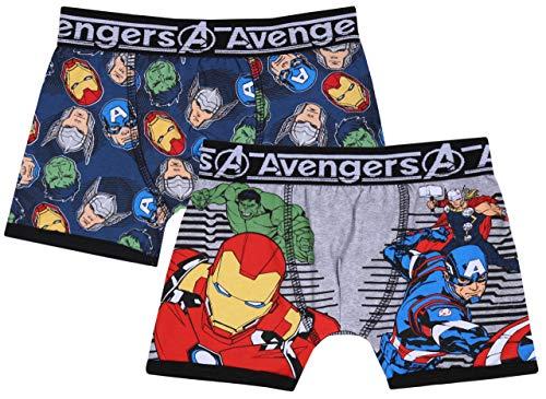2 x bonte boxershorts voor jongens Avengers Marvel