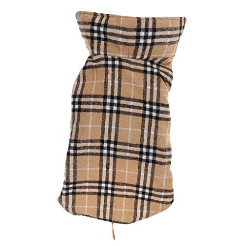 Sharplace Haustier Warmer Winter Kleidung Wasserdichter Hundemantel - Beige, XS