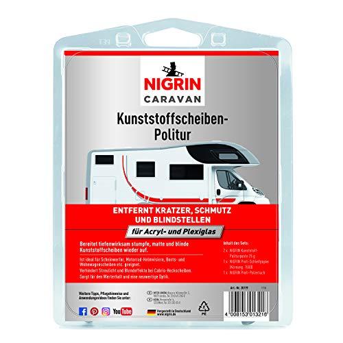 Nigrin 20119 Caravan Kunststoffscheibenpolitur für Acryl- und Plexiglas