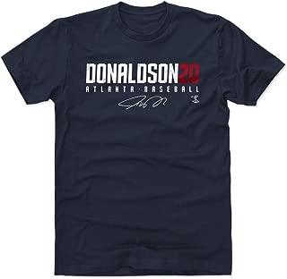 500 LEVEL Josh Donaldson Shirt - Atlanta Baseball Men's Apparel - Josh Donaldson Elite