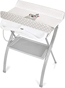 HANSHAN Changing Table Changing Table Baby Newborn Multifunctional Bath Table Massage Table Portable Folding Storage Style 0-3 Years Old Inch  color