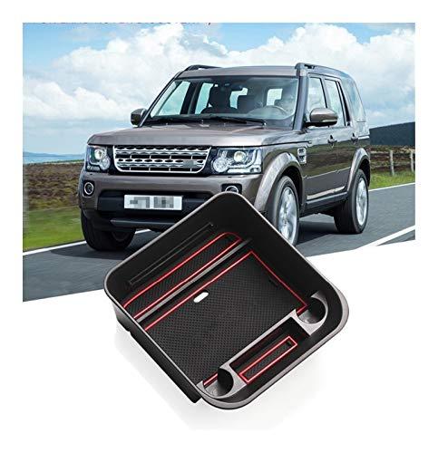 Roki-X Almacenamiento de la Caja del apoyabrazos para el Land Rover Discovery 4 L319 LR4 2011 2012 2012 2015 2016 2016 Organizador de automóviles Accesorios Ordenadores (Size : LR4 Box)