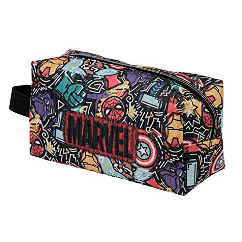 KARACTERMANIA Marvel Trend-Bolsa de Aseo Brick, Multicolor