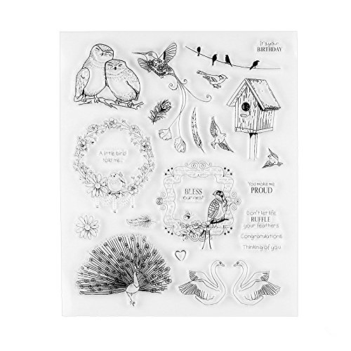Bless Subject Transparent Clear Silicone Stamp/Seal for DIY Scrapbooking/Photo Album Decorative Clear Stamp Sheets
