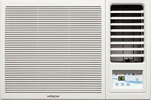 Hitachi 1 Ton 5 Star Window AC (RAW511KUD Kaze Plus White)