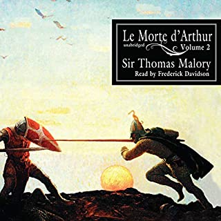 Le Morte d'Arthur, Vol. 2 audiobook cover art