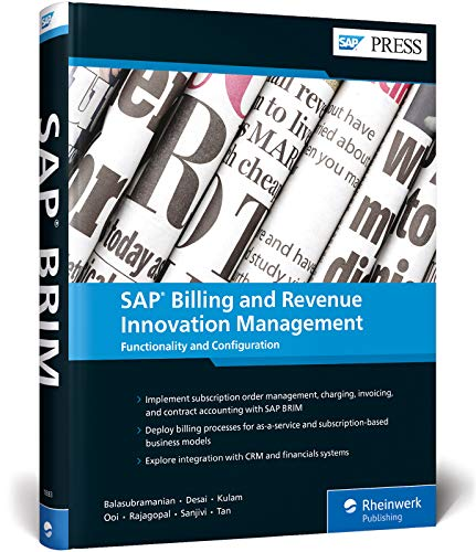 SAP Billing and Revenue Innovation Management: Functionality and Configuration (SAP PRESS: englisch)
