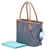 Premium Designer Diaper Bag Diaper Tote By Kute 'n' Koo – Large