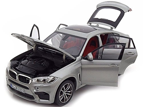 BMW Original X6 M (F86) Miniatur Modellauto Maßstab 1:18 Donington Grey metallic