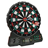GBBHSKL Electronic Dart Board - Automatic Scoring Dartboard 10 Inch Target Area, 18 Types of Game...