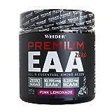 Weider Premium EAA Zero Pink Lemonade 325 g. 9 Aminoacidos esenciales. Sin Azúcar.