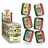 Figurine Panini Calciatori 2021 - Display da 6 Tin Box [6 Tin Box da collezione + 90 bustine]