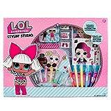 L.O.L. Surprise! Stylin' Studio by Horizon Group Usa, Decorate & Personalize LOL Surprise Paper Dolls,...