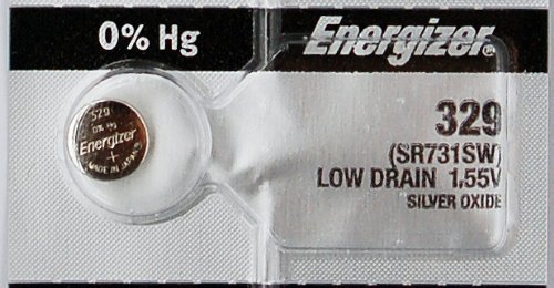 Energizer 2 329 SR731SW Batterie oxyde d'argent 1,55 V