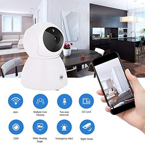 720P WiFi bewakingscamera 10 LED IR nachtzicht 180 ° groothoekbewaking op afstand tweeweg audio ONVIF IP Camara voor thuis