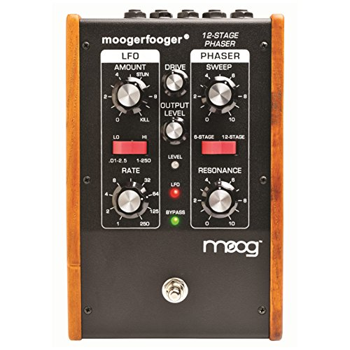 Moog MF103 Moogerfooger 12 Stage Phaser Effects Pedal