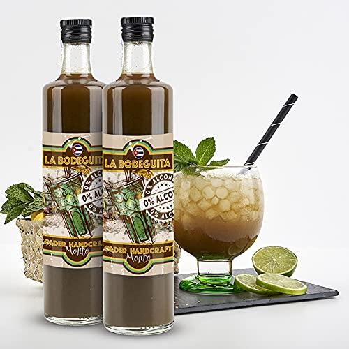 SIN ALCOHOL, Mojito Artesano la Bodeguita (pack 2 botellas)