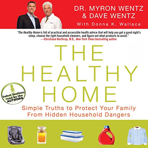 The Healthy Home audiobook cover art