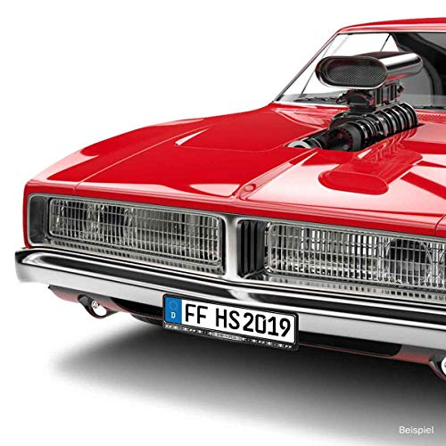 Fast and Furious Hobbs & Shaw Kfz Nummerschildhalter Motiv Born for Speed