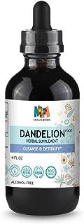 Dandelion Tincture 4 FL OZ Alcohol-Free Liquid Extract, Organic Dandelion Root (Taraxacum Officinale)
