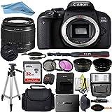 Canon EOS T7I/800D DSLR Camera with 18-55mm Lens + Professional Accessory ZeeTech Bundle (Professional Bundle + 32GB)