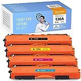 MyCartridge PHOEVER Compatible para HP 130A CF350A Toner para HP Color Laserjet Pro MFP M176 M176FN M177 M177FW M176n