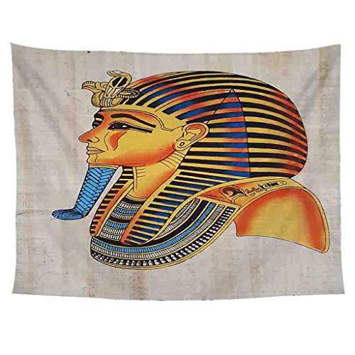 Xmiral Tapisserie Wandbild Uralt Ägypten Stil Hängen Tapestries Wandbehang Gobelin 150X200cm(AH)