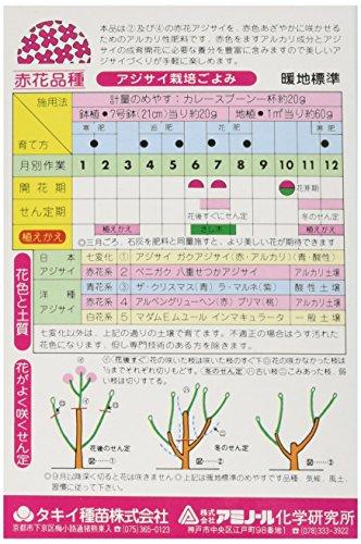 アミノール化学研究所 赤花アジサイ肥料 400g