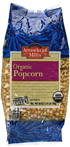 Review Arrowhead Mills Organic Yellow Popcorn, 28 oz.