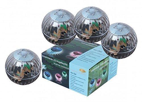 Benelando® LED Schwimmleuchte 4er Set