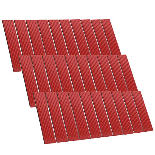 FEPITO 30 Pack Number Plate Sticky Pads Adhesive Double Sided Sticky Foam Pads for Car License Number Plate Fixing