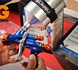 Atom X88 LVLP-MP Professional Spray Gun 1.3 and 1.4 TIP Combo w/Free GunBudd Ultra Lighting System
