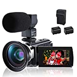 CofunKool WiFi 4K Camcorder Ultra HD 60FPS IR Night Vision 3.0 inches IPS