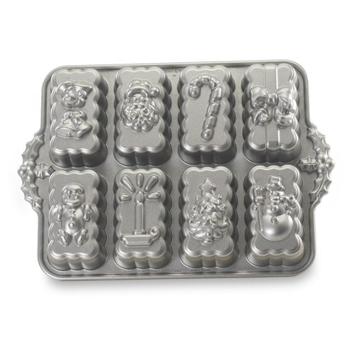 Nordic Ware Holiday Mini Loaves Pan