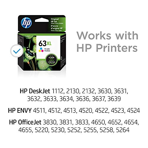 HP 63XL | Ink Cartridge | Tri-color | F6U63AN