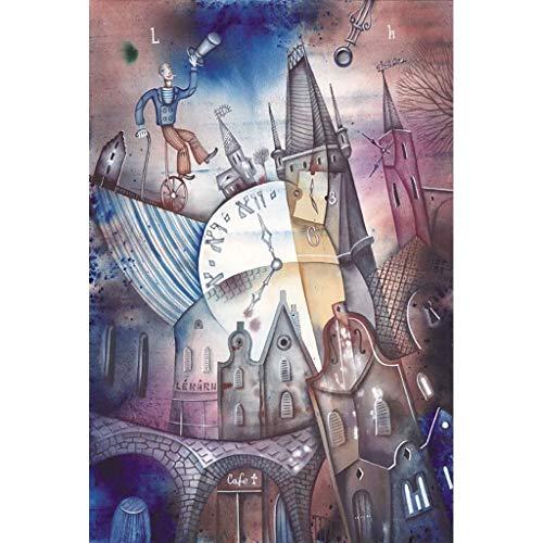 Picasso Pittura a colori ricchi, Puzzle in legno for adulti Bambini, Arte astratta, 300/500/1000 Pezzi for fidanzati Regalo Giocattoli Gioco Decorazione domestica Anime del fumetto di decompressione